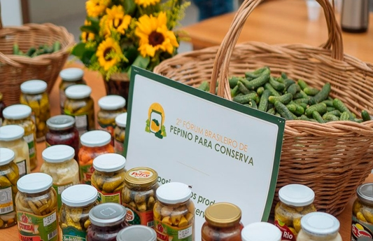 Inspiracom realizou o  2º Fórum Brasileiro de Produção de Pepino em Conserva