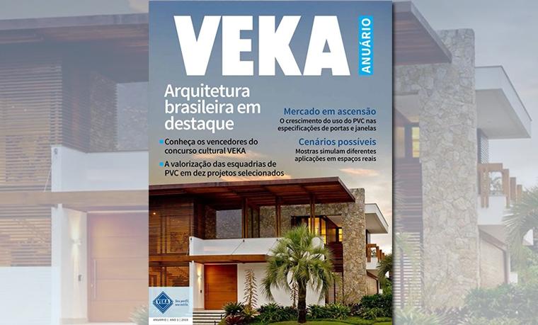 Lançamento da terceira edição do concurso cultural da VEKA Brasil