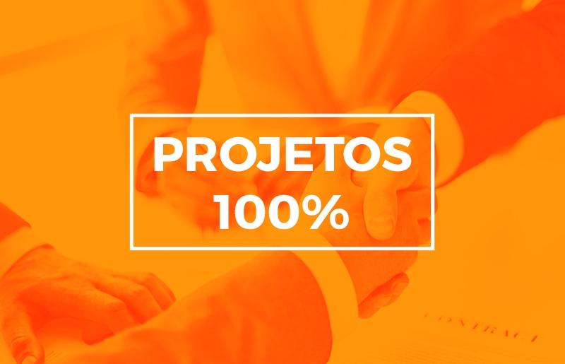 PROJETOS 100%